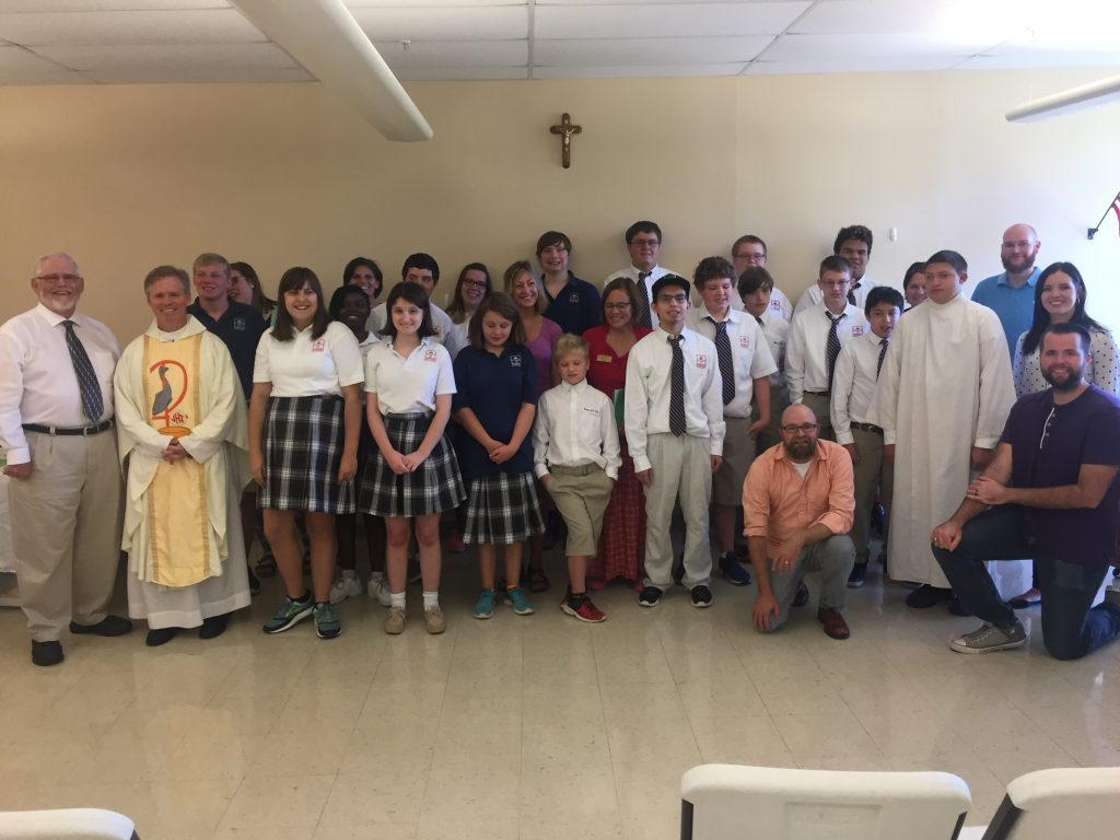 Academy of St. Louis Observes Catholic Schools Week